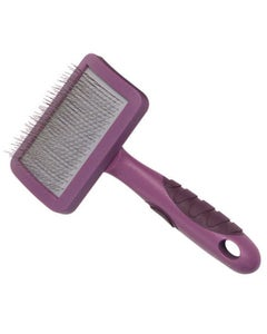 Soft Protection Slicker Dog/Cat Brush - Medium