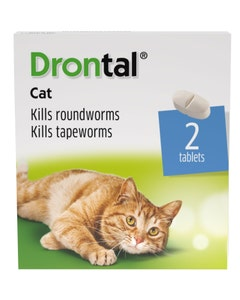 Drontal Cat Tablets - Pack of 2