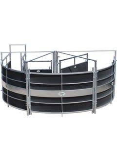 IAE RoteX Portable Cattle Handling System - Black/Galvanised