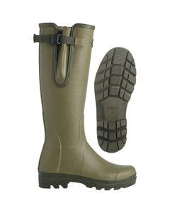 Le Chameau Mens Vierzon Jersey Lined Wellington Boots