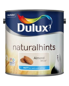 Dulux Natural Hints Matt Almond White - 2.5L