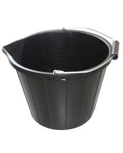 JFC Black Scooper Bucket - 15 Litres