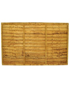 Forest Garden Trade Lap Fence Panel 1.83m x 1.22 (6' x 4') - Pack of 4