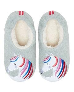 Joules Children's Slippet Felt Mule Slippers