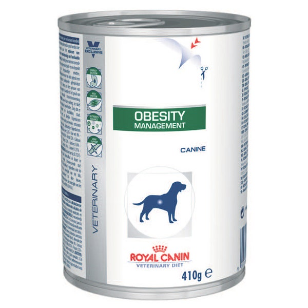 An image of Royal Canin Veterinary Diet Canine Obesity Management - 12 x 410g