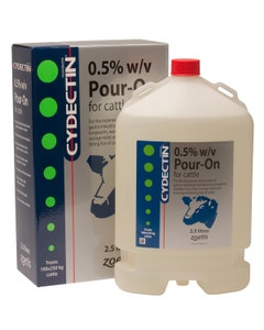 Cydectin Cattle Pour On - 2.5L