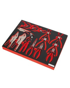 Sealey Pliers Set with Tool Tray - 14 piece