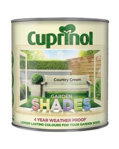 Cuprinol Garden Shades Wood Paint Country Cream - 2.5L