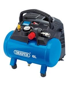 Draper 6L Oil Free Air Compressor - 1.2kW