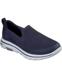 Skechers Mens GOwalk 5 Prized Casual Shoes - Navy