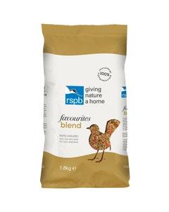 RSPB Favourites Blend Wild Bird Food – 1.8kg