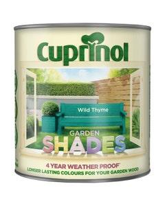 Cuprinol Garden Shades Wood Paint Wild Thyme - 2.5L