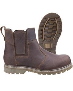 Amblers Abingdon Dealer Boots - Brown