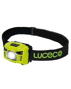 Luceco Rechargeable PIR Inspection Head Torch - 3W