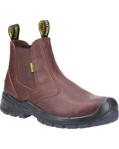 Amblers Adults AS306C Safety Dealer Boots - Brown