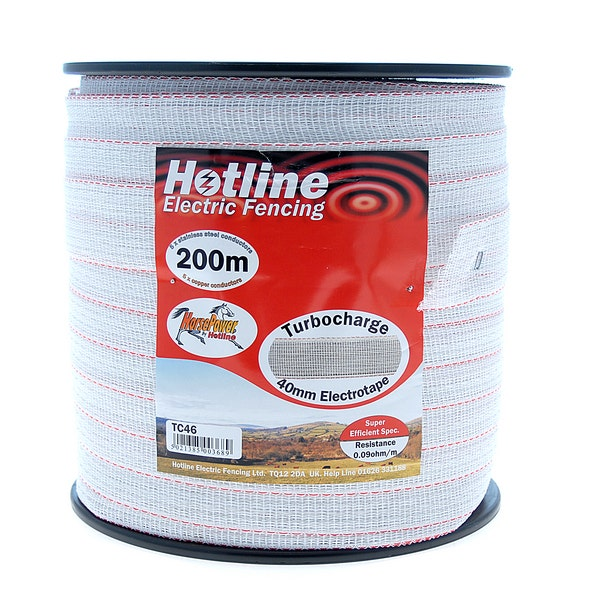 An image of Hotline 40mm Turbocharge Tape - 200m