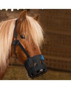 Hy Grazing Muzzle - Black Pony