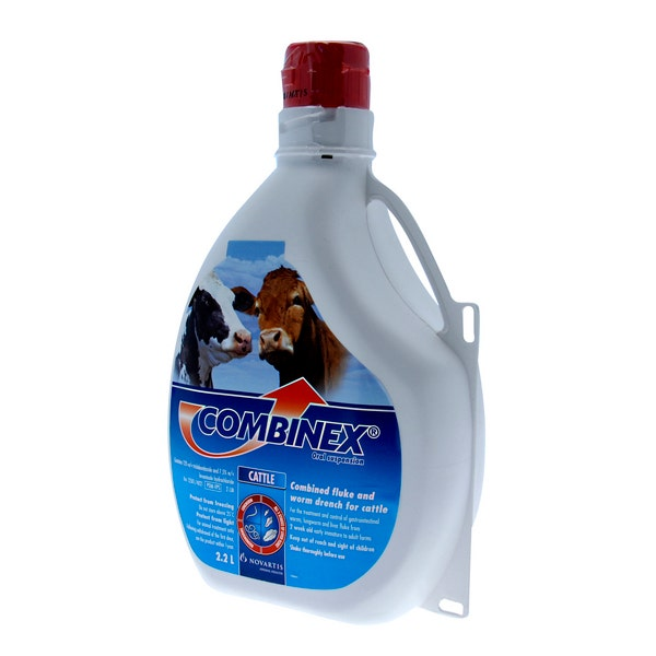 An image of Combinex Cattle Drench - 2.2L