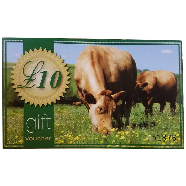 An image of £10 In Store Only Gift Voucher