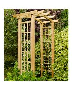 Forest Garden Ryeford Garden Arch - Unassembled