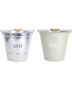 Manor Ash Bucket with Lid
