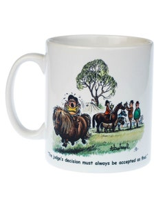 Thelwell Ceramic Judges Decision Pony Mug - 300ml