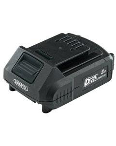 Draper D20 20V Lithium Battery - 2.0Ah