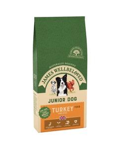 James Wellbeloved Junior Dog Turkey & Rice - 15kg
