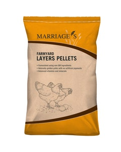 Marriages Farmyard Layers Pellets - 20kg