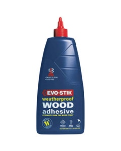 Evo-Stik Weatherproof Exterior Wood Adhesive - 500ml