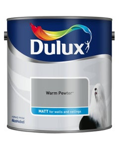 Dulux Matt Warm Pewter - 2.5L