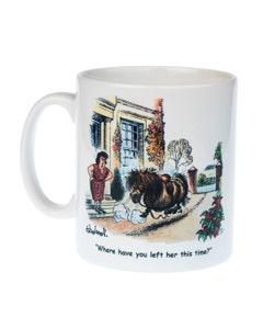 Thelwell Ceramic Fallen Rider Pony Mug - 300ml