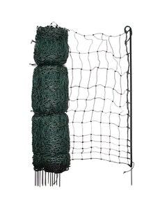 Mole Electric Fencing Green Poultry Net - 120cm x 50m