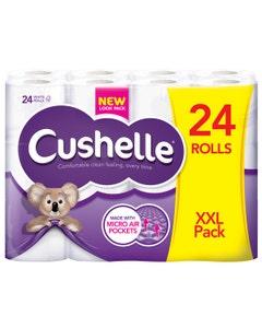 Cushelle Comfort Toilet Tissue - Pack of 24 Rolls