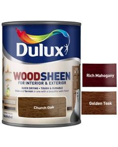Dulux Woodsheen For Interior & Exterior - 750ml