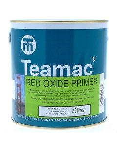 Teamac Red Oxide Primer Paint 2.5L