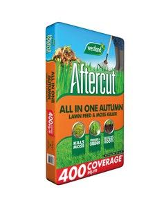 Westland Aftercut Autumn Lawn Feed & Moss Killer - 400sqm