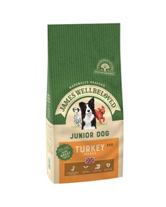 James Wellbeloved Junior Dog Turkey & Rice - 2kg