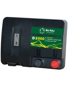 MVF D2000 12V / 230V Dual Power Electric Fencing Energiser