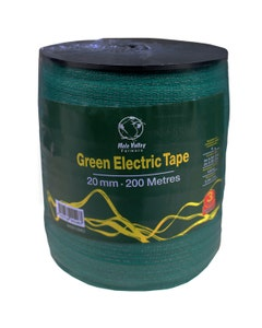 MVF Electric Green Fence Tape - 20mm x 200m