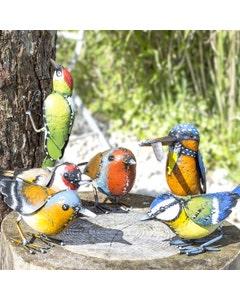 La Hacienda Realistic Steel British Birds