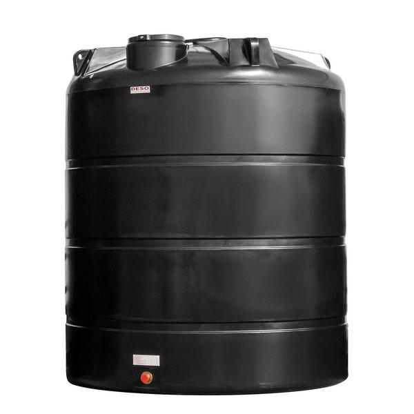 An image of Deso Black Water Tank 15000L - V15000BLKDWT