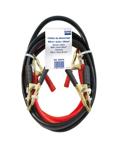 Battery Booster Cables - 3m (500A)