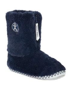 Bedroom Athletics Ladies Monroe Faux Fur Slipper Boots