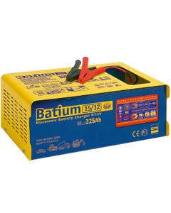 GYS Batium 15-12 Automatic 6/12V Battery Charger with Microprocessor