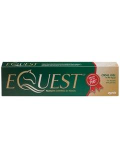 Equest Oral Gel Horse Wormer 700kg Syringe