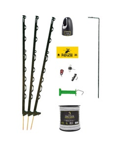 Mole Electric Fencing Ultimate Equestrian Electric Fencing Starter Kit - 100m