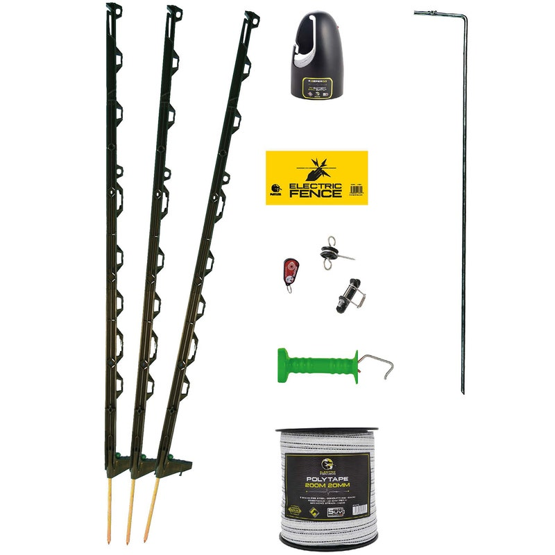 An image of Mole Electric Fencing Ultimate Equestrian Electric Fencing Starter Kit - 100m