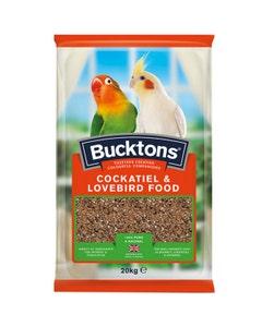 Bucktons Cockatiel & Lovebird Mix - 20kg