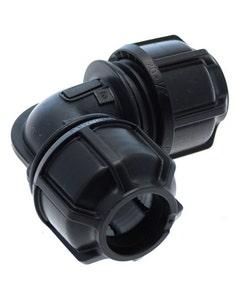 "Philmac Metric/Imperial Elbow POL X POL 25mm/3/4"""